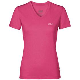 Jack Wolfskin Crosstrail Kortærmet T-shirt Damer pink